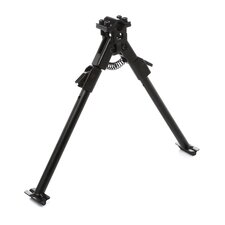 Bipod with Universal Barrel Mount in Black