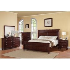Spencer Cherry Panel Bedroom Collection