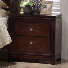 Lona 2 Drawer Nightstand