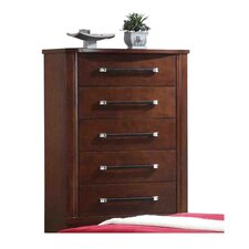 Americano 5 Drawer Standard Chest