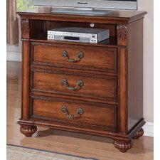Belhaven 3 Drawer Media Chest