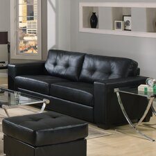 <strong>Furniture Link</strong> Gemona Faux Leather 3 Seater Sofa