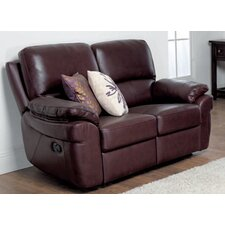 Monzano Leather 2 Seater Sofa