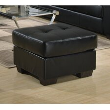 Gemona Footstool in Black