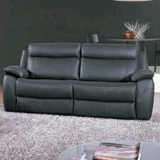 Alessia Leather 3 Seater Reclining Sofa