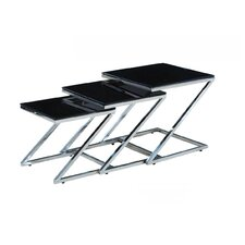 Nero 3 Piece Nest of Tables