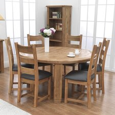 Danube 7 Piece Round Dining Set