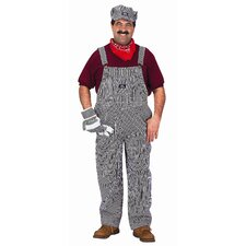 Adult Train Engineer Suit Costume