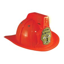 Jr. Fire Fighter Helmet in Red