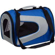 <strong>Pet Life</strong> Zippered Sporty Mesh Pet Carrier