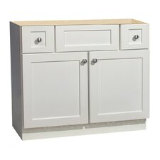 "Cape Cod Series 36"" Maple Bathroom Vanity Base"