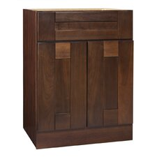 "Georgetown Series 24"" Chestnut Bathroom Vanity Base"