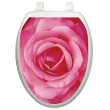 <strong>Toilet Tattoos</strong> Themes Single Rose Toilet Seat Decal