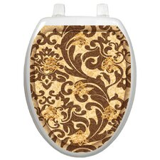 <strong>Toilet Tattoos</strong> Classic Tuscany Filigree Toilet Seat Decal