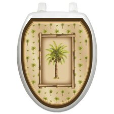 <strong>Toilet Tattoos</strong> Themes Bahamas Breeze Toilet Seat Decal