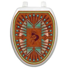 Themes Kokapelli Toilet Seat Decal