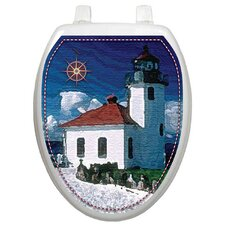 Themes Lighthouse Toilet Seat Decal