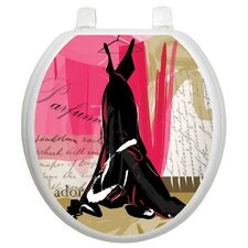 Themes In Vogue Toilet Seat Decal