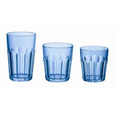 "Happy Hour 4"" Tumbler in Light Blue"