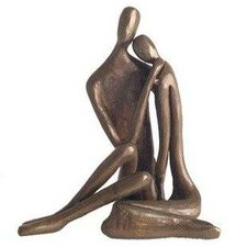 Couple Embracing Figurine