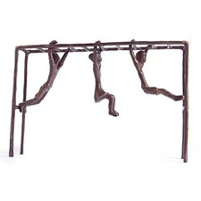 Children on Monkey Bar Figure