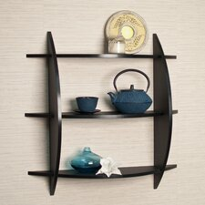 3 Tier Half Moon Shelf Unit