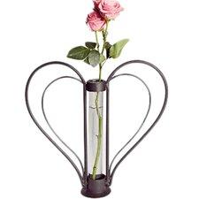 Cylinder Sweetheart Flower Bud Vase