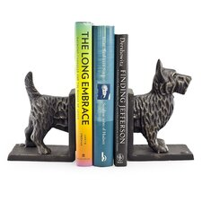 Terrier Dog Bookend (Set of 2)