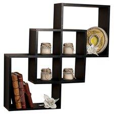 3 Piece Intersecting Wall Shelf