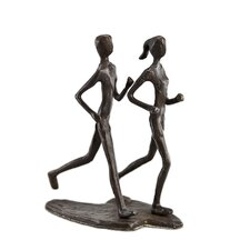 Couple Jogging Sculpture
