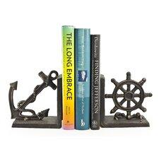 Nautical Iron Book Ends (Set of 2)