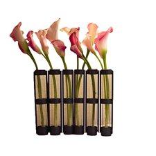 Movable 6 Tube Hinged Vase