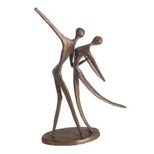 Dancing Couple in Cast Bronze