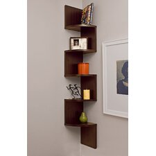 <strong>Danya B</strong> Corner Zig Zag Wall Shelf