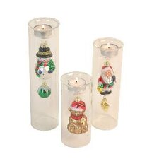 Christmas Tealight Holders (Set of 3)