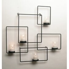 Puzzle Wall Candle Holder