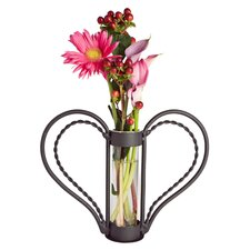 Iron Cylinder Sweetheart Flower Vase