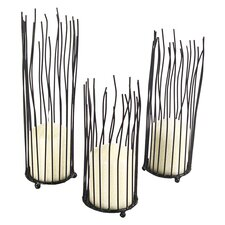 Willow Votive Candle Holder (Set of 3)
