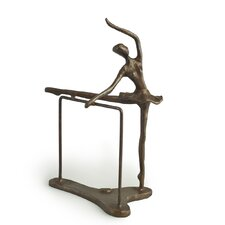 Ballerina on Bar Figurine