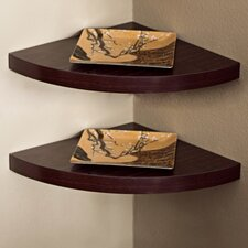<strong>Danya B</strong> Corner Radial Shelf (Set of 2)