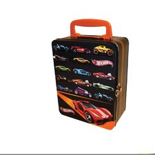 Hot Wheels 18 Car Tin Vintage Toy Box