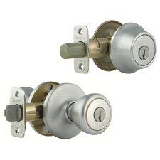 Tylo Entry Knob with Single Cylinder Deadbolt