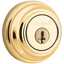 <strong>Kwikset</strong> Smartkey Single Cylinder Deadbolt