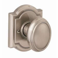 Carnaby Dummy Knob in Satin Nickel