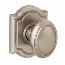 Carnaby Hall and Closet Knob in Satin Nickel
