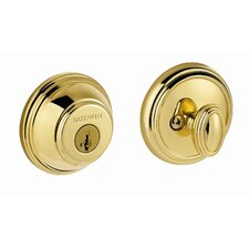 Prestige Single Cylinder Round Deadbolt