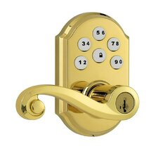 <strong>Kwikset</strong> Signature Series SmartCode Electronic Keypad with Lido Lever and SmartKey