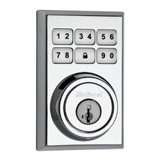 Signature Series SmartCode Electronic Deadbolt featuring SmartKey