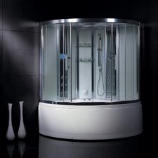 Platinum 3 kW Steam Shower with Whirlpool Bathtub