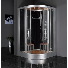 "Platinum 47.2"" x 47.2"" x 89""  Neo-Angle Door Steam Shower"